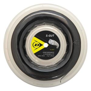 Multifilament String Dunlop SGut 1.25 200 m Reel  Black 624840