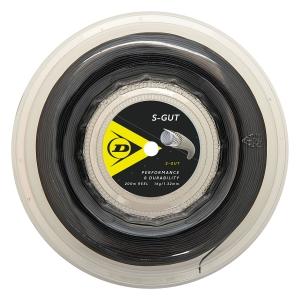 Multifilament String Dunlop SGut 1.32 200 m Reel  Black 624839