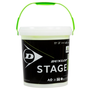 Dunlop Tennis Balls Dunlop Stage 1 Green  60 Ball Box 601342