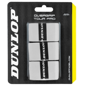 Padel Accessories Dunlop Tour Pro x 3 Overgrip  White 623798