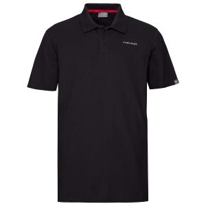 Polo Tenis Hombre Head Club Bjorn Polo  Black 811439BK