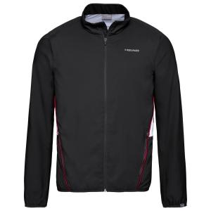 Men's Tennis Jackets Head Club Jacket  Black 811309BK