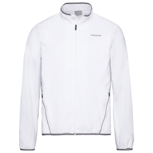 Men's Tennis Jackets Head Club Jacket  White 811309WH