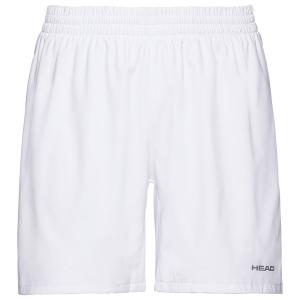 Pantalones Cortos Tenis Hombre Head Club 8in Shorts  White 811379WH