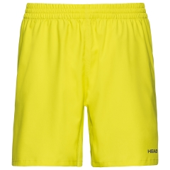Head Club 8in Shorts - Yellow