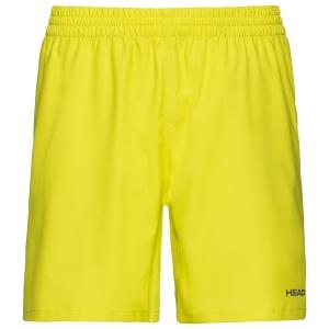Pantaloncini Tennis Uomo Head Club 8in Pantaloncini  Yellow 811379YW