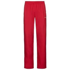 Men's Tennis Pants and Tigths Head Club Pants  Red 811329RD