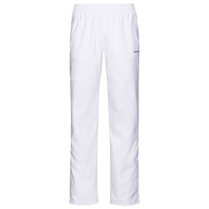 Pantaloni e Tights Tennis Uomo Head Club Pantaloni  White 811329WH