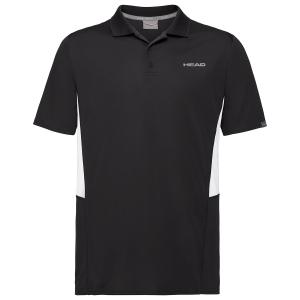 Polo Tenis Hombre Head Club Tech Polo  Black 811339BK
