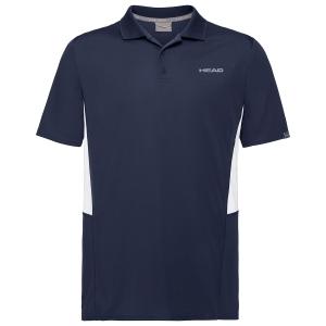 Polo Tenis Hombre Head Club Tech Polo  Dark Blue 811339DB