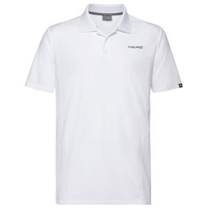 Polo Tenis Hombre Head Club Tech Polo  White 811339WH