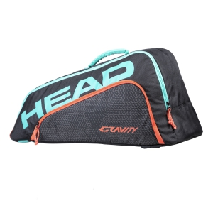 Borsa Tennis Head Bambino Combi Gravity Borsa  Black/Teal 283700 BKTE