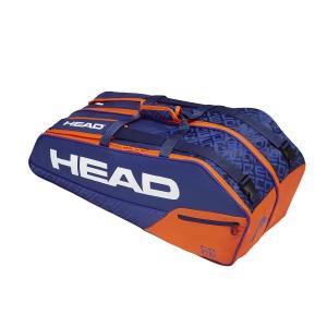 Tennis Bag Head Core x 6 Combi Bag  Blue/Orange 283519 BLOR