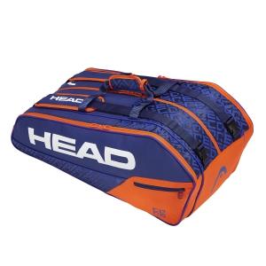 Tennis Bag Head Core x 9 Supercombi Bag  Blue/Orange 283509 BLOR