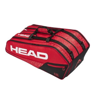 Tennis Bag Head Core x 9 Supercombi Bag  Red/Black 283509 RDBK