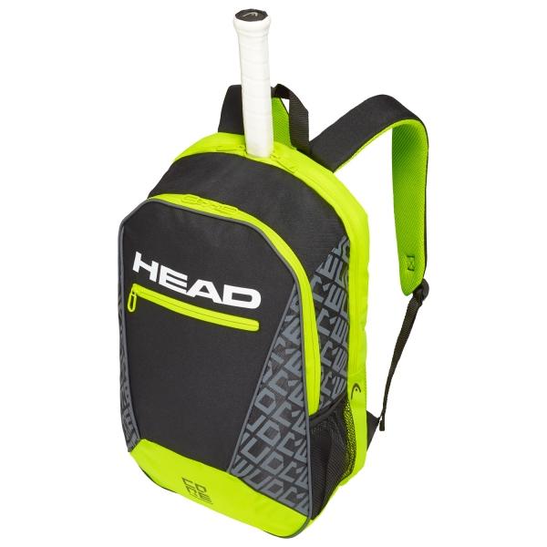 Head Core Backpack - Black/Lime 283539 BKNY