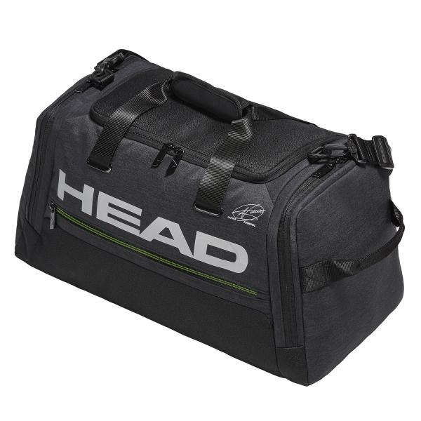 Head Duffle Djokovic Bag - Dark Grey/Black 283069 DGBK