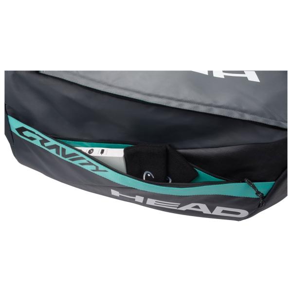 Head Gravity Sport Bag - Black/Teal