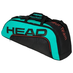 Tennis Bag Head Tour Team x 6 Combi 2020 Bag  Black/Teal 283150 BKTE