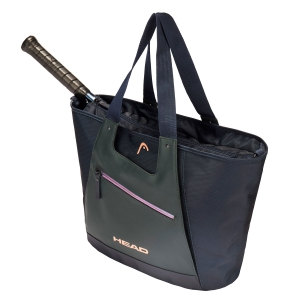 Borsa Tennis Head Womens Tote Borsa  Navy/Green 283269 NVGR