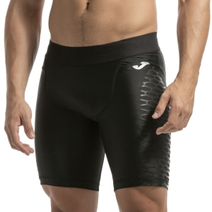 Pantaloncini Tennis Uomo Joma Brama Compression 9in Shorts  Black 101111.100