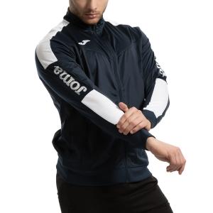Men's Tennis Jackets Joma Champion IV Jacket  Navy/White 100687.302