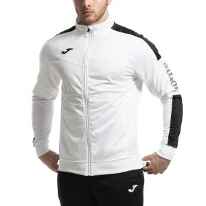 Men's Tennis Jackets Joma Champion IV Jacket  White/Black 100687.201