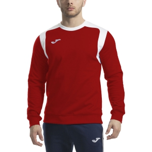 Men's Tennis Shirts and Hoodies Joma Champion V Hoodie  Red/White 101266.602