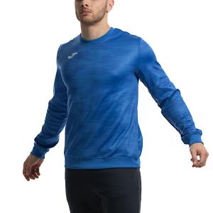 Men's Tennis Shirts and Hoodies Joma Grafity Fleece  Blue 101329.703