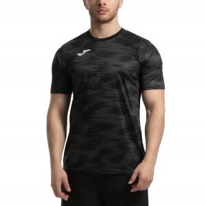 Men's Tennis Shirts Joma Grafity TShirt  Black 101328.151