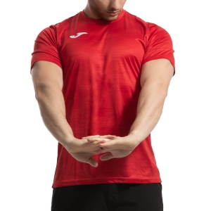 Camisetas de Tenis Hombre Joma Grafity Camiseta  Red 101328.600
