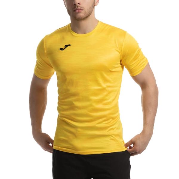 10178d11b6 Joma Grafity Men's Tennis T-Shirt - Yellow
