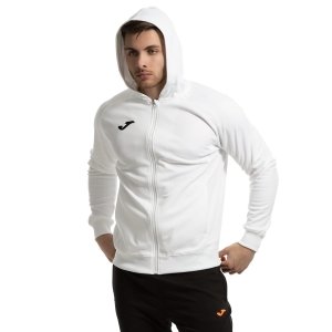Men's Tennis Jackets Joma Menfis Jacket  White/Black 101303.200