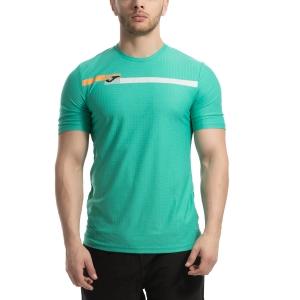 35d1e1b694 Men's Tennis Shirts Joma Open TShirt Aqua Green 101347.400