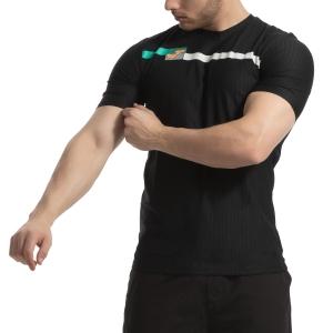 Men's Tennis Shirts Joma Open TShirt  Black 101347.100
