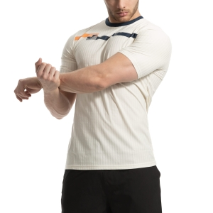 Men's Tennis Shirts Joma Open TShirt  Light Beige 101347.200