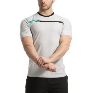 Men's Tennis Shirts Joma Open TShirt  Light Grey 101347.251