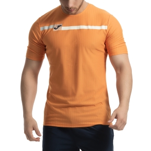 Men's Tennis Shirts Joma Open TShirt  Orange 101347.800