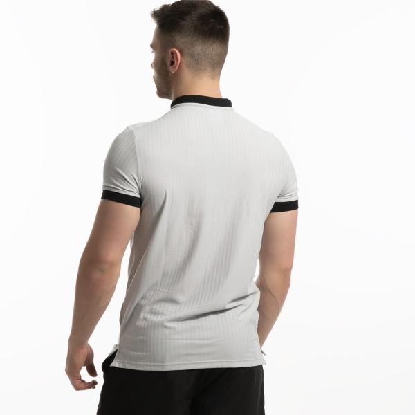 Joma Open Polo - Light Grey/Black