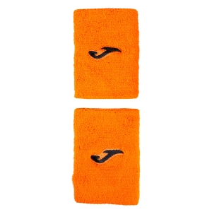 Tennis Head and Wristbands Joma Wristband Large  Orange/Black 400300.P04OR