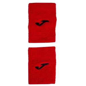 Tennis Head and Wristbands Joma Wristband Large  Red/Black 400300.P04RED