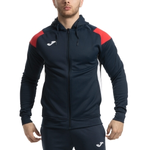 Men's Tennis Jackets Joma Poly Crew III Jacket  Navy/Red/White 101271.336