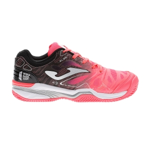 Padel Shoes Joma Slam Girl  Coral/Black J.SLALW907
