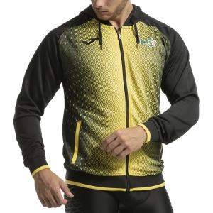 Men's Tennis Shirts and Hoodies Joma Supernova Cecchinato Hoodie  Black/Yellow 101285.109