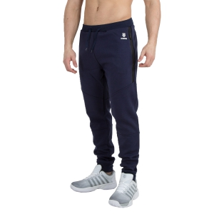 Men's Tennis Pants KSwiss Hypercourt Sweat Pants  Navy 102364400