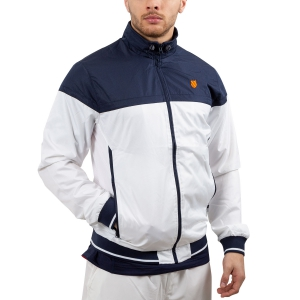 Men's Tennis Jackets KSwiss Hypercourt Tracksuit Jacket  White/Navy 102360401