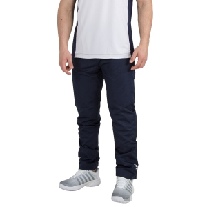 Men's Tennis Pants KSwiss Hypercourt Tracksuit Pants  Navy/White 102361400