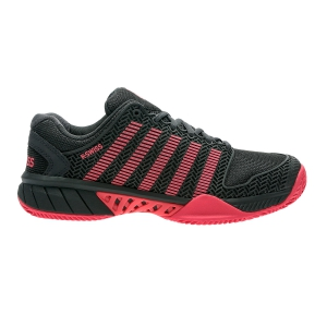 Women`s Tennis Shoes KSwiss Hypercourt Express Clay  Dark Grey/Pink 93378037M