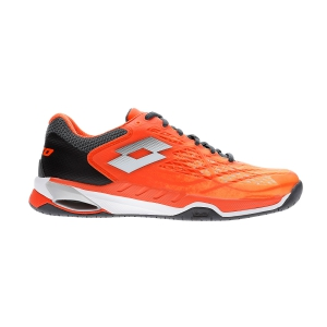 Calzado Tenis Hombre Lotto Mirage 100 Speed  Red Orange/All White/Asphalt 21073258H