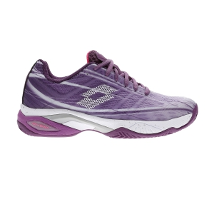 Calzado Tenis Mujer Lotto Mirage 300 Clay  Charisma Violet/All White/Funky Pink 21074058W